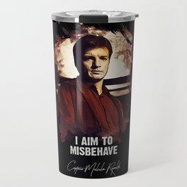 Captain Malcolm Reynolds - FIREFLY Travel Mug