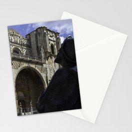 Camino Pilgrim Leon Spain Stationery Cards