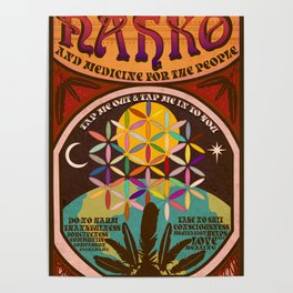 Nahko & Medicine for the People | Fan Made Poster Poster
