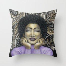 Paisley Dreams Throw Pillow