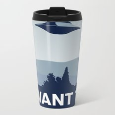 My X-files: I want to believe poster Metal Travel Mug