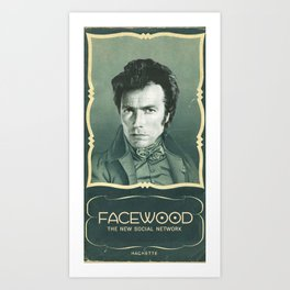 facewood Art Print