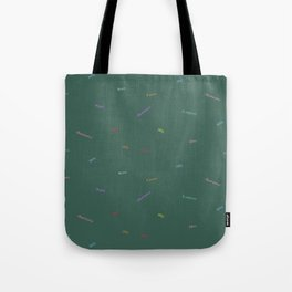 Abundance Print, Green Tote Bag