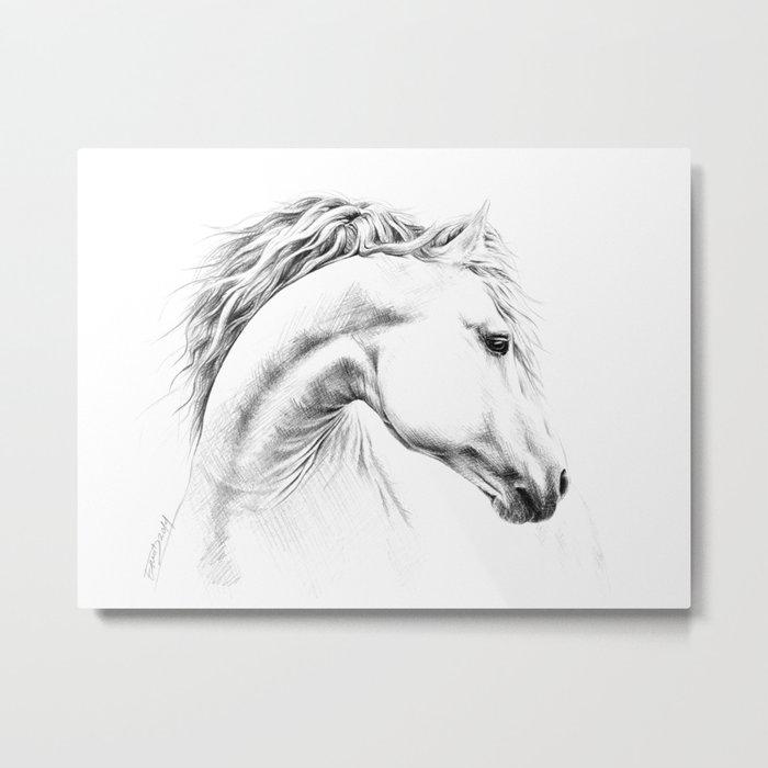 Horse Metal Print