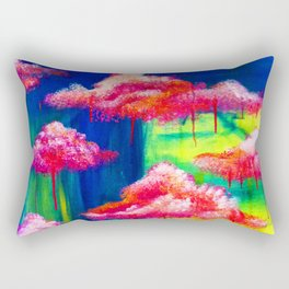 Candy Clouds Rectangular Pillow
