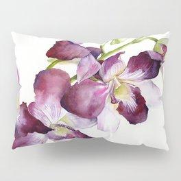 Radiant Orchids: Magenta Dendrobiums Pillow Sham