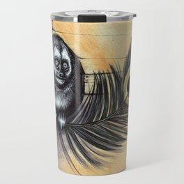Owl Monkey Travel Mug