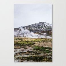 Icelandic Steam Canvas Print