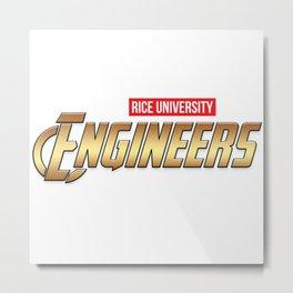 Rice Engineers Metal Print