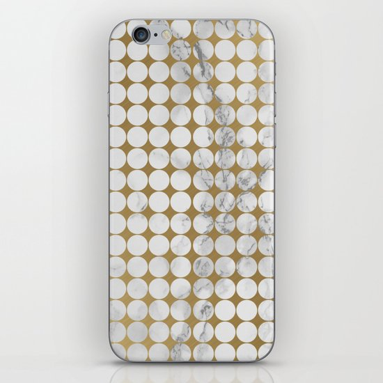 Marble #13 iPhone Skin