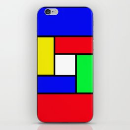 Game of colours iPhone Skin