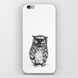 Inked Owl iPhone Skin