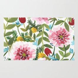 Spring Floral Rug