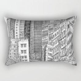 Hong Kong. China. central the mood tower Rectangular Pillow