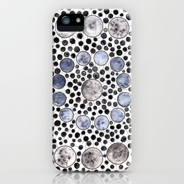 Moonflower iPhone Case