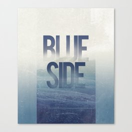 Blue Side Canvas Print
