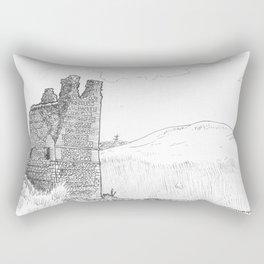 Ruins Rectangular Pillow