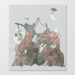Junkyard Playground Canvas Print