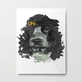 DogHead Metal Print