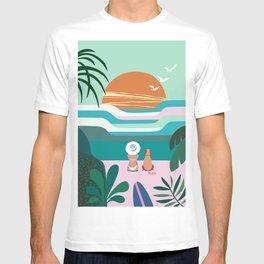 Sun Flock T-shirt