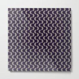 Colored Fifties Pattern 08 Metal Print