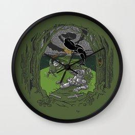 Happy Knight Wall Clock