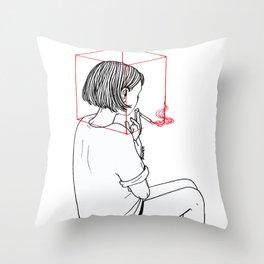 Habit Breaking Throw Pillow
