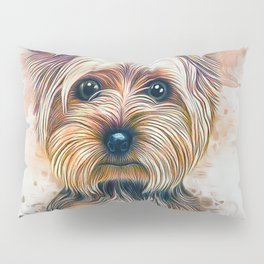 Yorkshire Terrier Pillow Sham