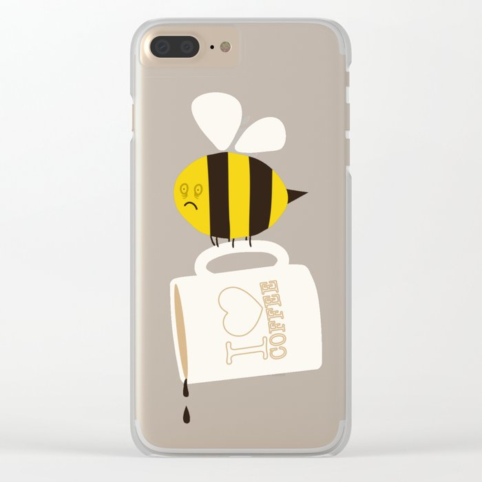 Need. Coffee. Now. Clear iPhone Case