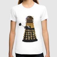 dalek T-shirts featuring Dalek (Collage) by Ben Morgan