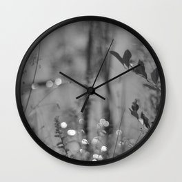 Summer Afternoon by the Pond in New Hampshire Wall Clock