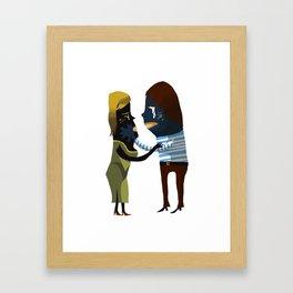 I Gotta Go Framed Art Print