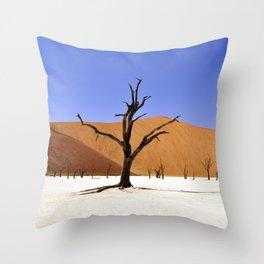 desert tree 4 Throw Pillow
