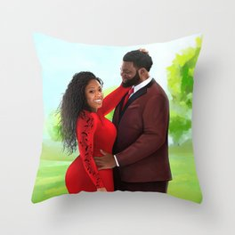 T&Y Throw Pillow