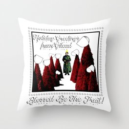 Holiday Greetings from Gilead! Throw Pillow