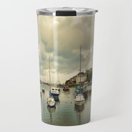 Brixham harbor  Travel Mug
