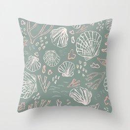 Deep-sea Treasures - soft Throw Pillow