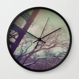 View from my Window Wall Clock