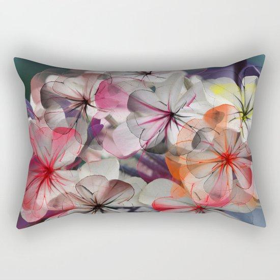 Flower carpet(31). Rectangular Pillow