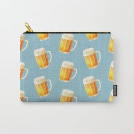 Ice Cold Beer Pattern Carry-All Pouch