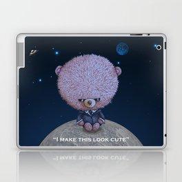Ted in Black Laptop & iPad Skin