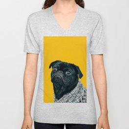 Pug Is Life Unisex V-Neck