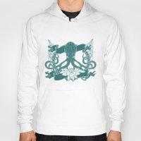 kraken Hoodies featuring KRAKEN by Norm Morales Originals