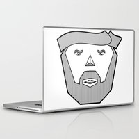 the dude Laptop & iPad Skins featuring Dude by Martin Heinemann