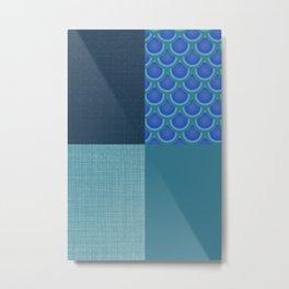 Abstract Mix v3 Metal Print