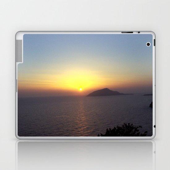 Greek Sunset Laptop & iPad Skin