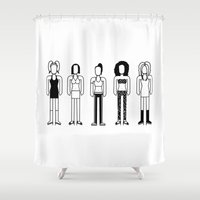 spice Shower Curtains featuring Spice Girls by Band Land