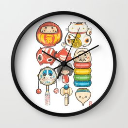 Special Lucky Toy Box Wall Clock