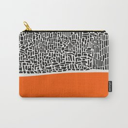 City Sunset Abstract Carry-All Pouch