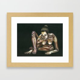 Figure #4 Framed Art Print
